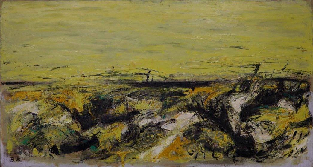 "Владимир Будников, ""Оазис"" 1998 г., x/м (коллекция Андрея Супруненко)."