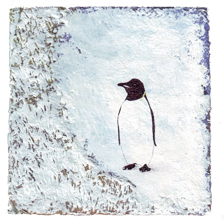 pinguin on ice original