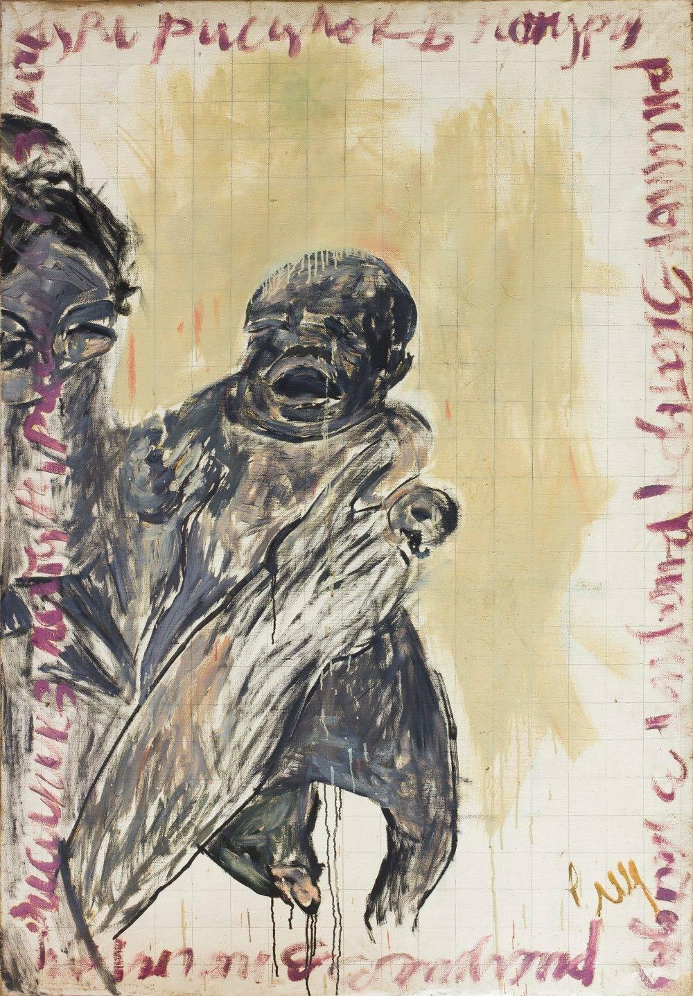 Андрей Сагайдаковский, Рисунок с натуры, 1990-е, холст, масло, 159 х 110