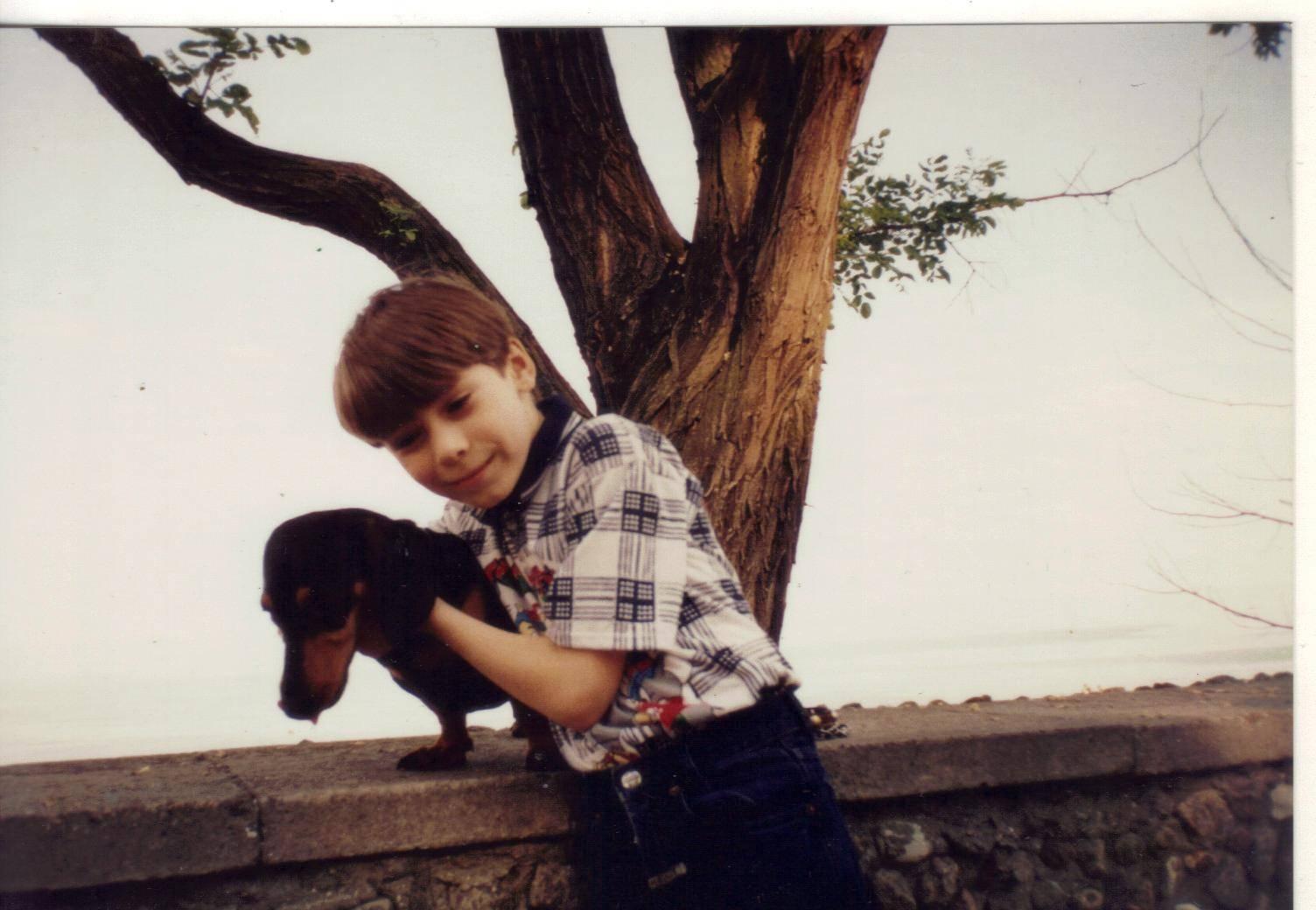 Коля Лукин, 8 лет