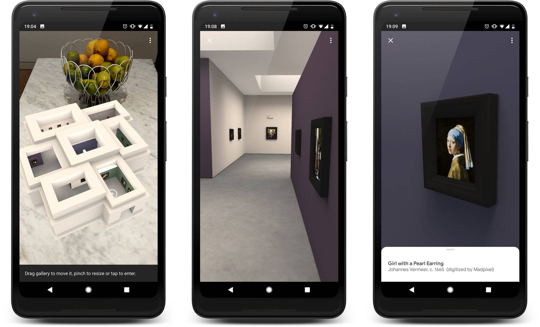 Ян Вермеер в виртуальном музее