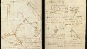 Записные книги Леонардо да Винчи