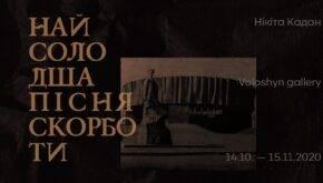 Нікіта Кадан у Voloshyn Gallery