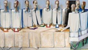 Микола Шимчук в галереї «АВС-арт»
