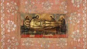 Плащаниця другої половини ХVІІІ століття в НМУНДМ