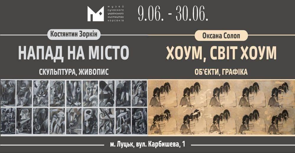 Костянтин Зоркін і Оксана Солоп в МСУМ Корсаків (Луцьк)